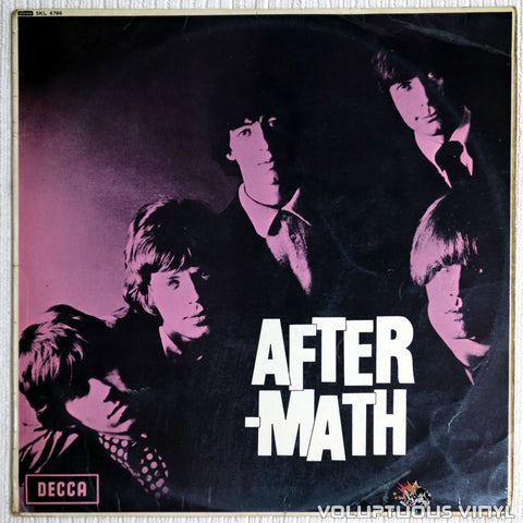 The Rolling Stones ‎– Aftermath - Vinyl Record - Front Cover