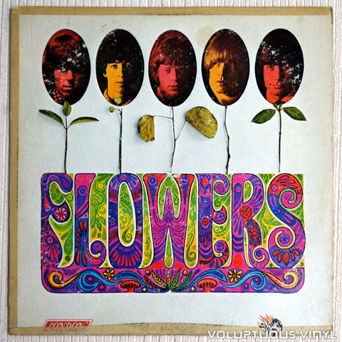 The Rolling Stones ‎– Flowers - Vinyl Record - Front Cover