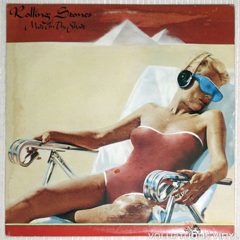The Rolling Stones ‎– Made In The Shade - Vinyl Record - Front Cover