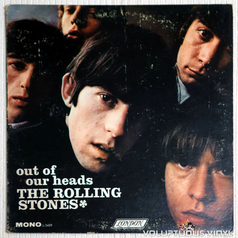 The Rolling Stones ‎– Out Of Our Heads - Vinyl Record - Front Cover