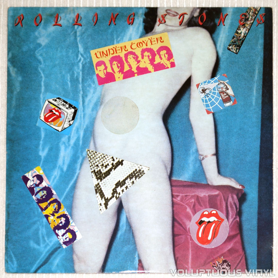 The Rolling Stones ‎– Undercover - Vinyl Record - Front Cover