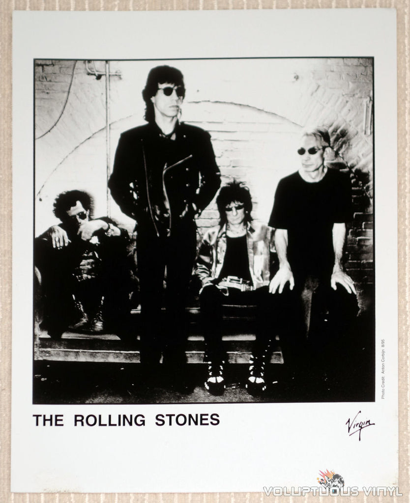 The Rolling Stones - Virgin Records - 1995 Promotional Photo