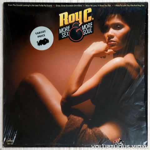 Roy C. ‎– More Sex And More Soul - Vinyl Record - Front Cover