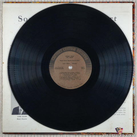 Royal Haven Baptist Church Choir ‎– Songs From The Heart vinyl record