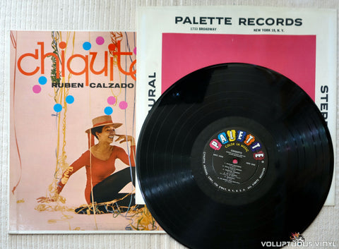 Ruben Calzado And His Latin Orchestra ‎– Chiquito - Vinyl Record