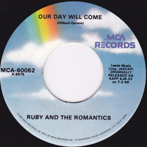 Ruby And The Romantics ‎– Our Day Will Come (1980)