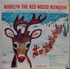Unknown Artist ‎– Rudolph The Red Nosed Reindeer And Other Christmas Favorites (1962) Vinyl Record