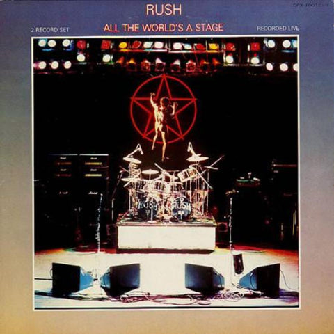 Rush ‎– All The World's A Stage - Vinyl Record