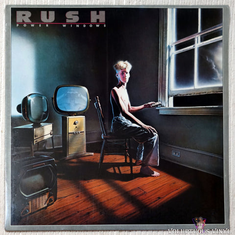Rush ‎– Power Windows vinyl record front cover