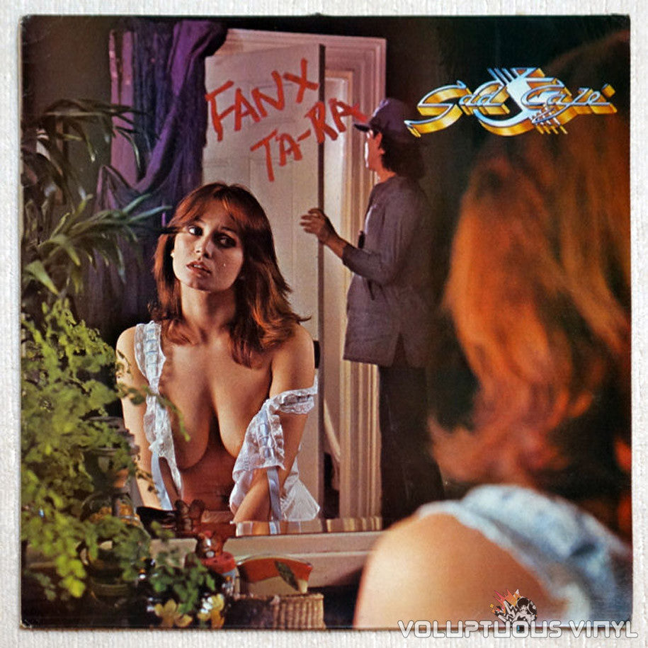 Sad Café ‎Fanx Ta'ra Busty Red Head Vinyl Record Front Cover