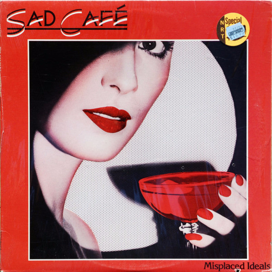 Sad Café ‎– Misplaced Ideals - Vinyl Record - Front Cover