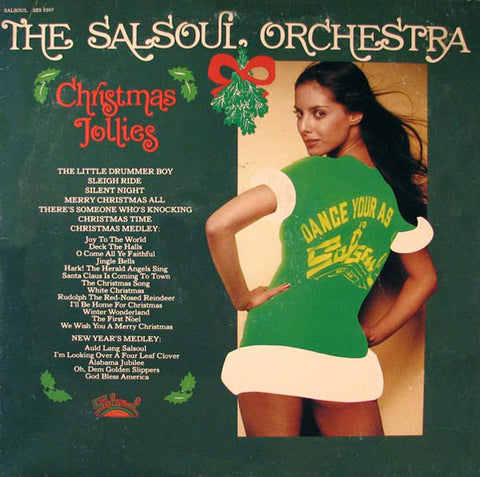 The Salsoul Orchestra ‎– Christmas Jollies (1976) Vinyl Record