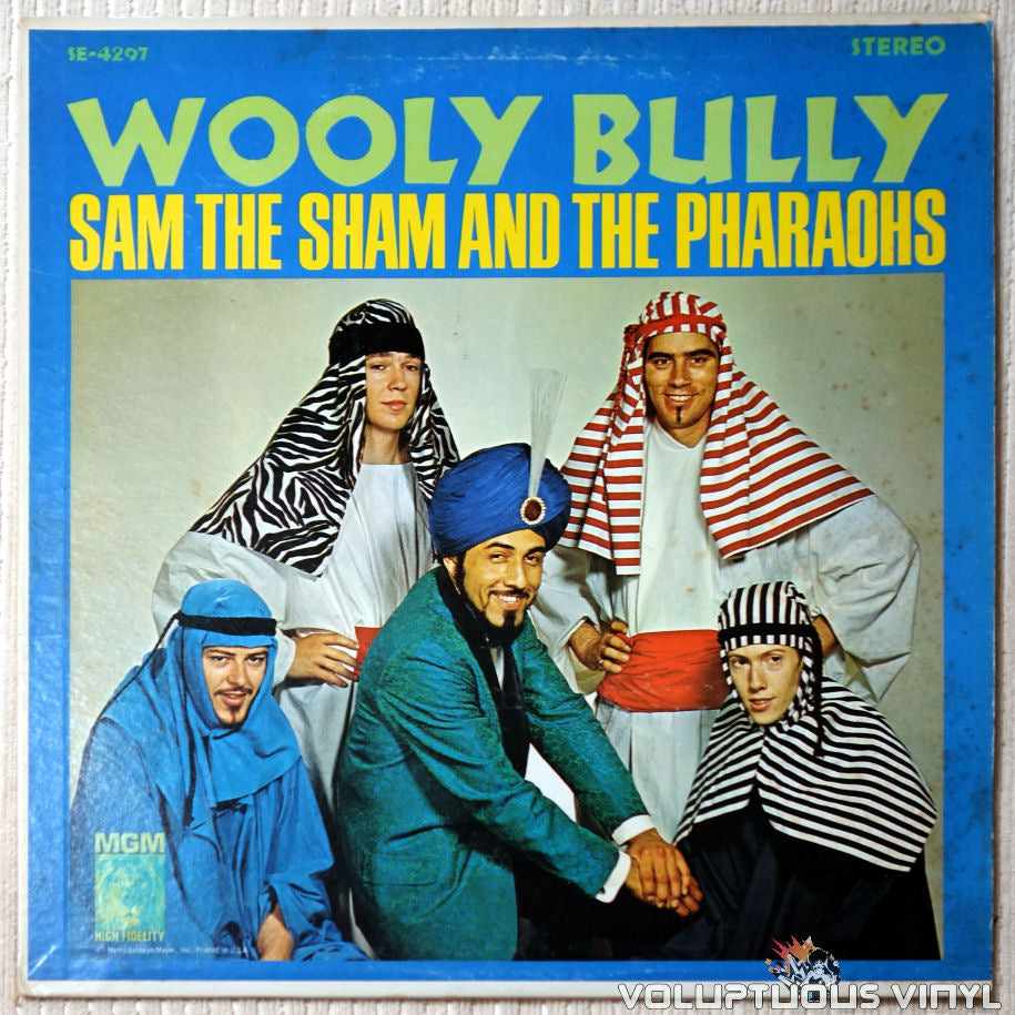 Sam The Sham And The Pharaohs ‎– Wooly Bully - Vinyl Record - Front Cover