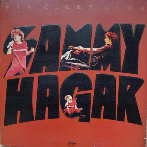 Sammy Hagar ‎– All Night Long - Vinyl Record