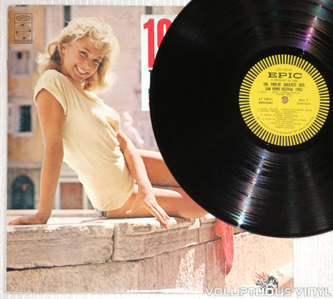 San Remo Festival 1962: The Twelve Greatest Hits - Vinyl Record - Sexy Blonde