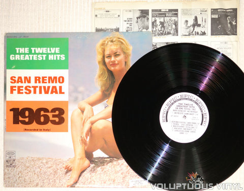 San Remo Festival 1963: The Twelve Greatest Hits - Vinyl Record - Bikini Babe