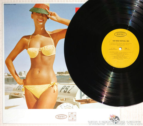 San Remo Festival 1964: The Twelve Greatest Hits - Vinyl Record - Bikini Babe