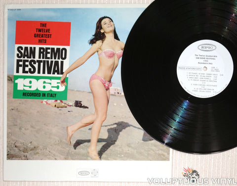 San Remo Festival 1965: The Twelve Greatest Hits - Vinyl Record - Bikini Babe