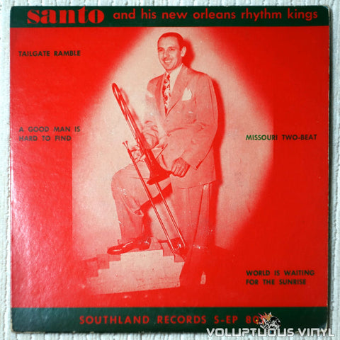 "Santo And His New Orleans Rhythm Kings ‎– A Good Man Is Hard To Find (Late 50's) 7"" EP"