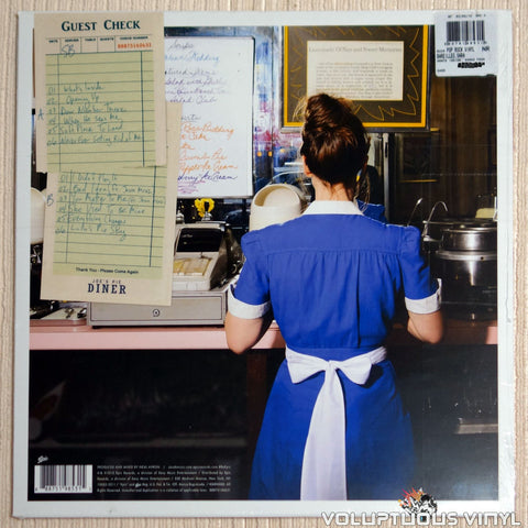 Sara Bareilles ‎– What's Inside: Songs From Waitress - Vinyl Record - Back Cover