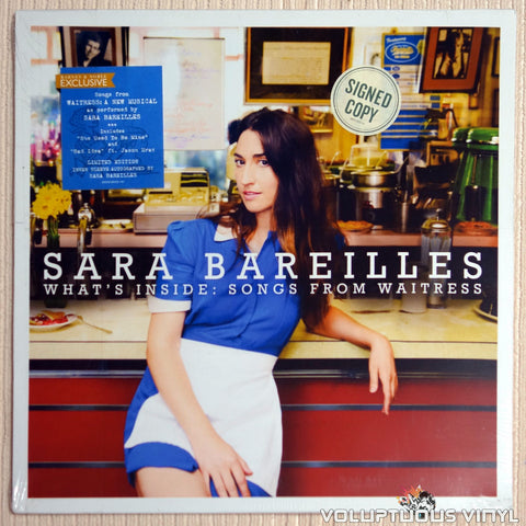 Sara Bareilles ‎– What's Inside: Songs From Waitress (2016) Ltd Edition, Autographed SEALED