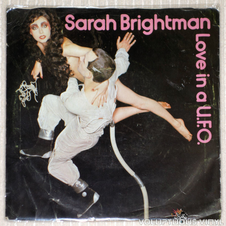Sarah Brightman ‎– Love In A U.F.O. - Vinyl Record - Front Cover
