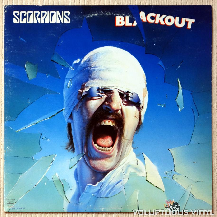 Scorpions ‎– Blackout - Vinyl Record - Front Cover
