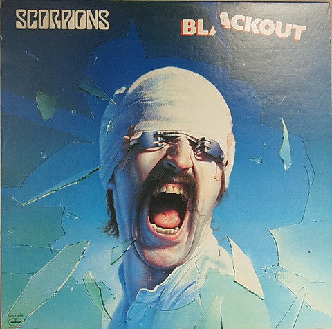 Scorpions ‎– Blackout (1982) Vinyl Record