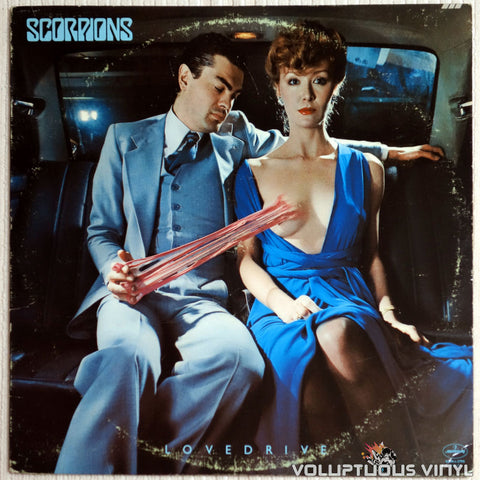 Scorpions ‎– Lovedrive (1979) Banned Cover