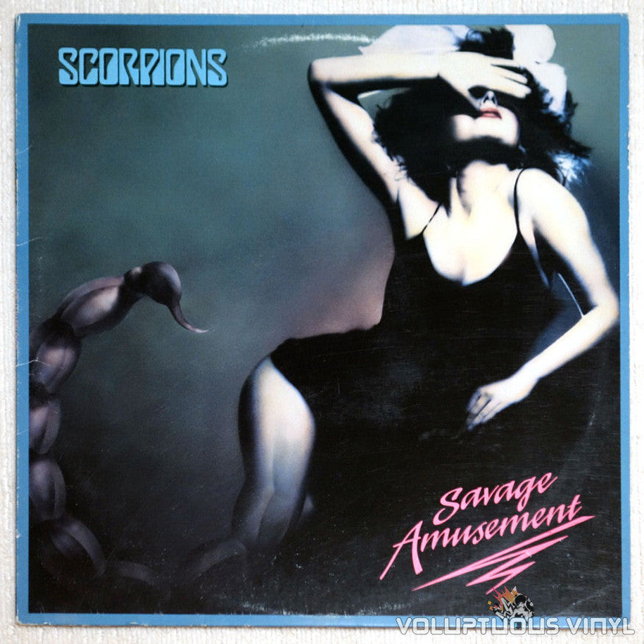 Scorpions ‎Savage Amusement Vinyl Record Front Cover