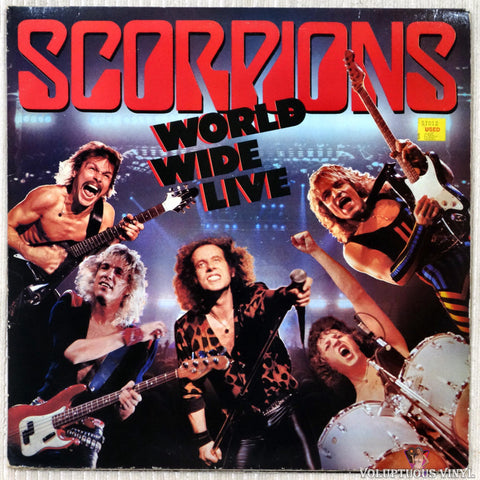 Scorpions ‎– World Wide Live (1985) 2xLP