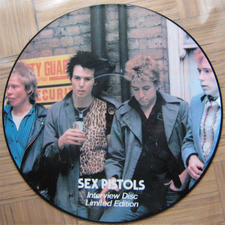 Sex Pistols ‎– Interview Disc - Vinyl Record - Side 1