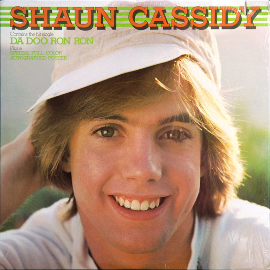 Shaun Cassidy ‎– Shaun Cassidy - Vinyl Record - Front Cover