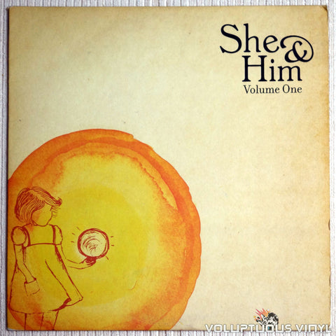 She & Him ‎– Volume One - Vinyl Record - Front Cover