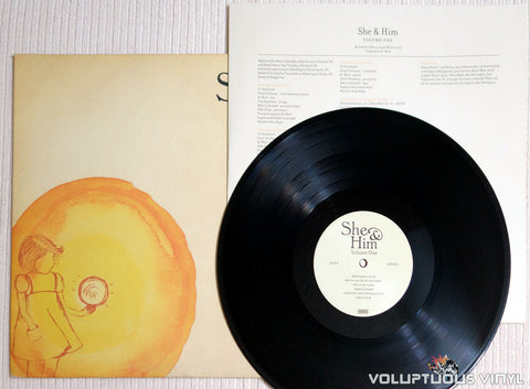She & Him ‎– Volume One - Vinyl Record
