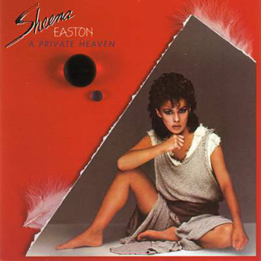 Sheena Easton ‎– A Private Heaven - Vinyl Record - Front Cover
