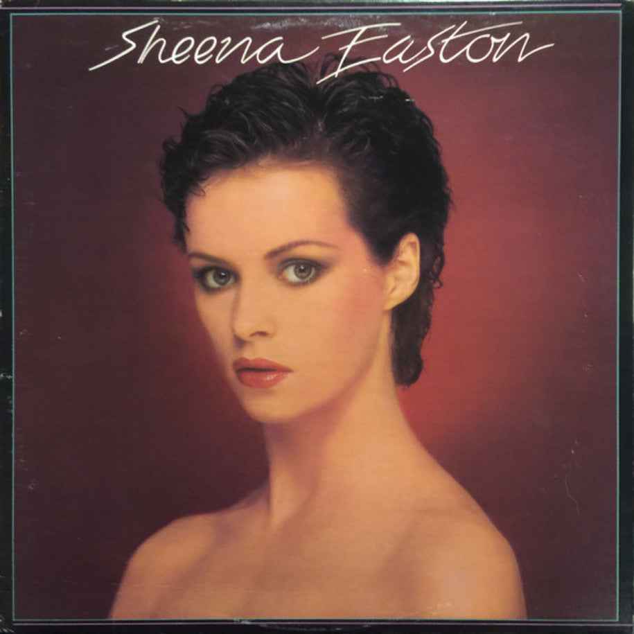 Sheena Easton ‎– Sheena Easton - Vinyl Record - Front Cover