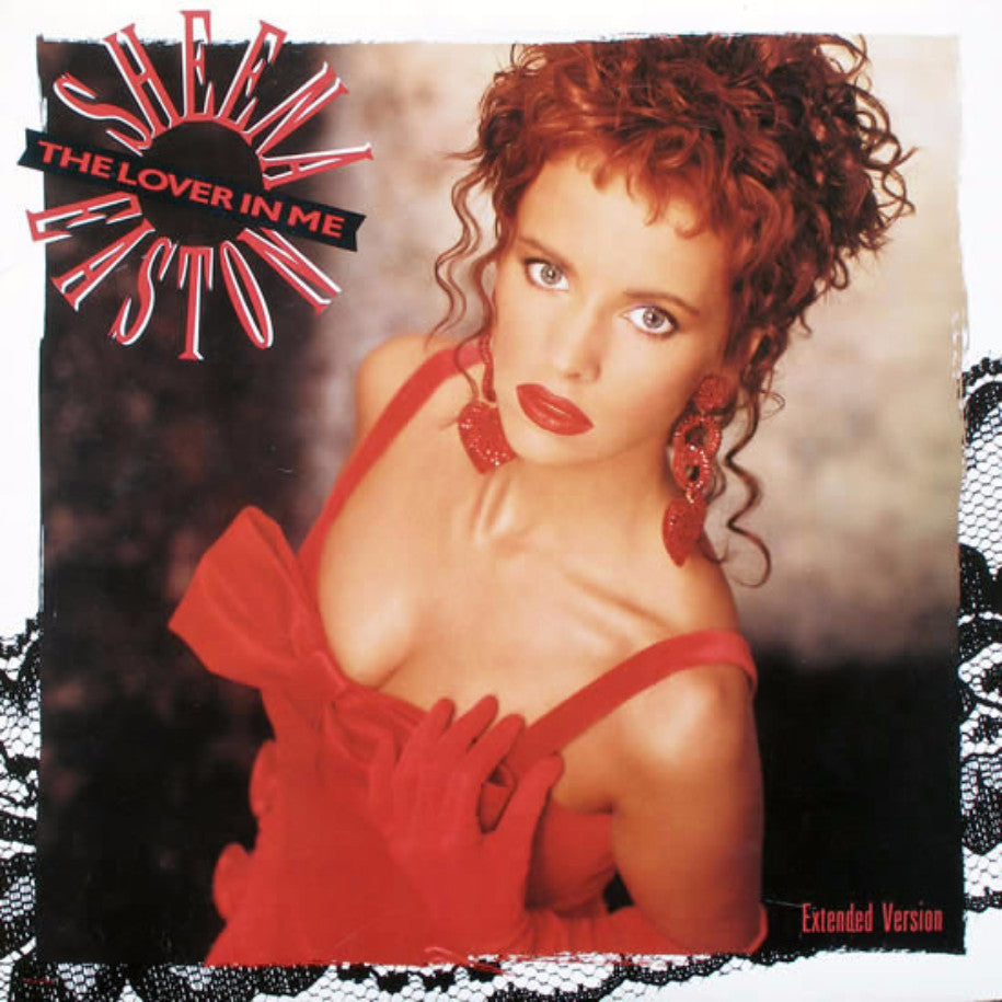 Sheena Easton ‎– The Lover In Me - Vinyl Single - Front Cover