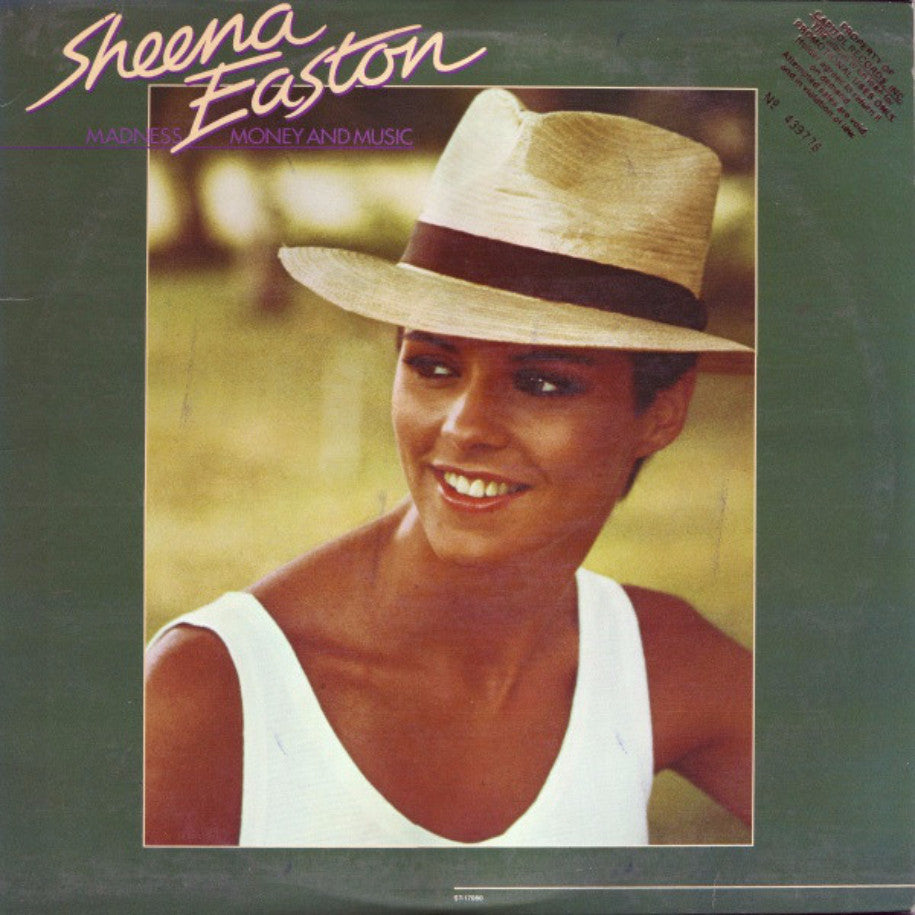 Sheena Easton ‎– Madness, Money And Music - Vinyl Record - Front Cover