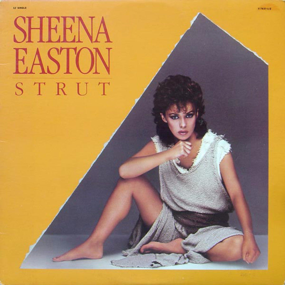 Sheena Easton ‎– Strut - Vinyl Record Single - Front Cover