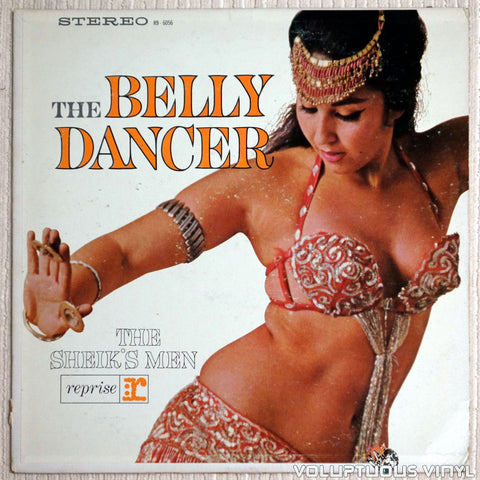 The Sheik's Men ‎– The Belly Dancer - Vinyl Record - Front Cover