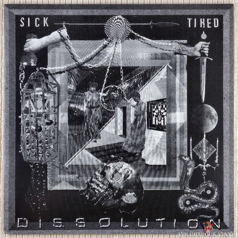 Sick/Tired ‎– Dissolution vinyl record front cover