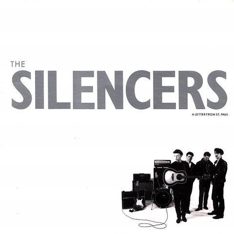 The Silencers ‎– A Letter From St. Paul (1987) Cheap Vinyl Record