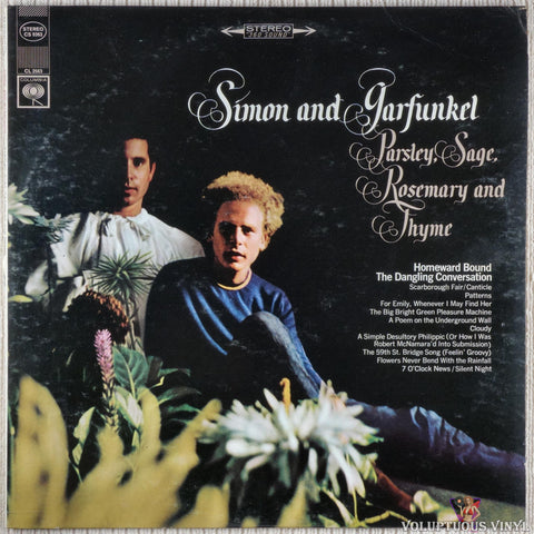 Simon & Garfunkel ‎– Parsley, Sage, Rosemary And Thyme (1967) Stereo