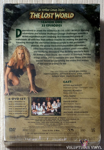 Sir Arthur Conan Doyle's The Lost World - Season One DVD back cover