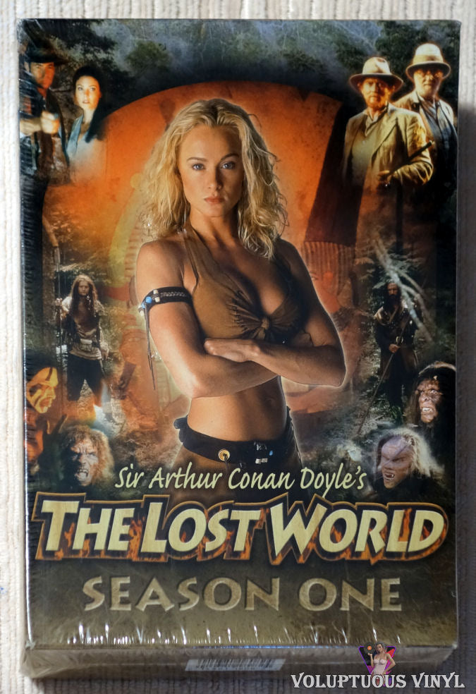 Sir Arthur Conan Doyle's The Lost World - Season One DVD front cover