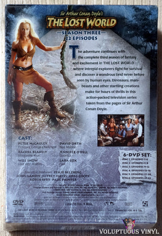 Sir Arthur Conan Doyle's The Lost World - Season Three DVD back cover