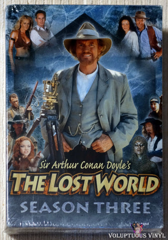 Sir Arthur Conan Doyle's The Lost World - Season Three DVD front cover