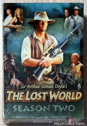 Sir Arthur Conan Doyle's The Lost World - Season Two DVD front cover