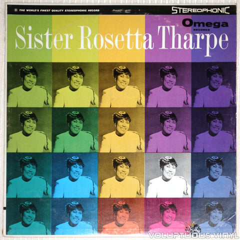 Sister Rosetta Tharpe ‎– Sister Rosetta Tharpe - Vinyl Record - Front Cover